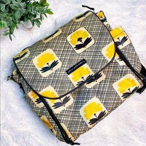 Petunia Pickle Bottom Backpack Diaper Bag Yellow